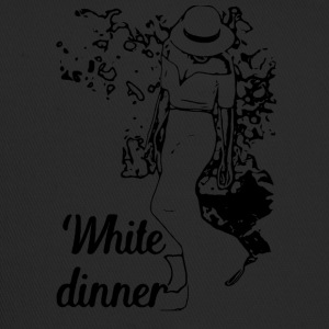 White Dinner Collection 1 - Trucker Cap