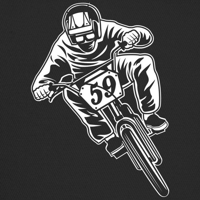 BMX Fahrrad / Bike 02_weiß