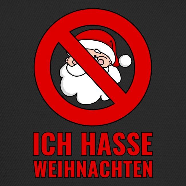 Anti Weihnachten Sprüche.Ich Hasse Weihnachten Schild Weihnachtsmann Santa Trucker Cap