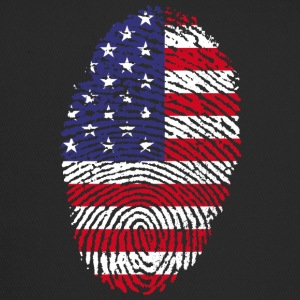 AMERICAN FINGERPRINT T-SHIRT - Trucker Cap