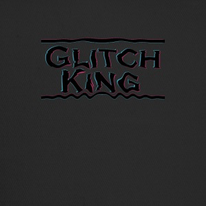 Glitch-King logo (ekstrem) - Trucker Cap