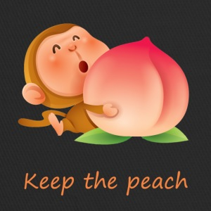 Monkey Keep the peach - Trucker Cap