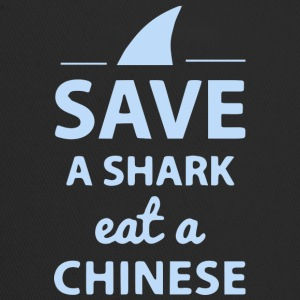 Save A SHARK EAT A CHINESE !! - Trucker Cap