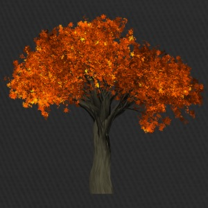 Tree with orange leaves - Autumn - Trucker Cap