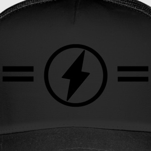 Lightning with stripes - Trucker Cap