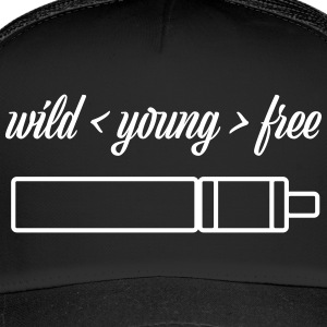 wild young free with TubeMod - Trucker Cap