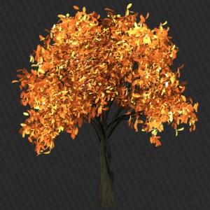 Beautiful tree with yellow leaves - Trucker Cap