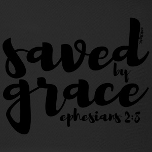 Saved by Grace - Ephesians 2:8 - Trucker Cap
