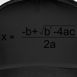 Quadratic Formula for all the Maths Disciples - Trucker Cap