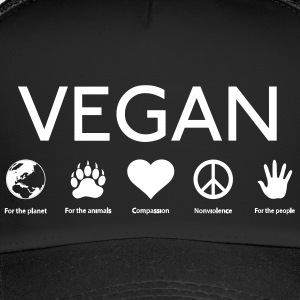 Vegan shirt - Trucker Cap
