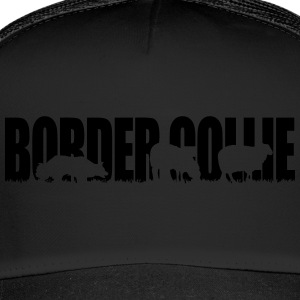 BORDER COLLIE WORKING DOG - Trucker Cap