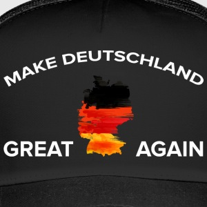 Maak Duitsland Great Again - Trucker Cap
