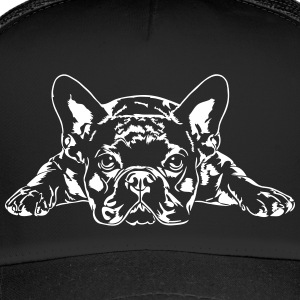 French Bulldog liggende - Fransk Bulldog - Trucker Cap