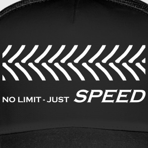 Traktorrennen, No Limit just Speed, Rasentraktor - Trucker Cap