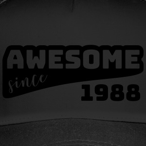 Awesome siden 1988 / Birthday-Shirt - Trucker Cap
