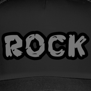 rock / rock dei graffiti - Trucker Cap