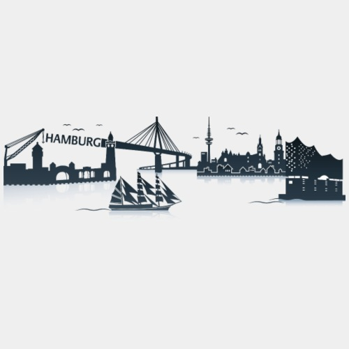 Hamburg Skyline - Trucker Cap