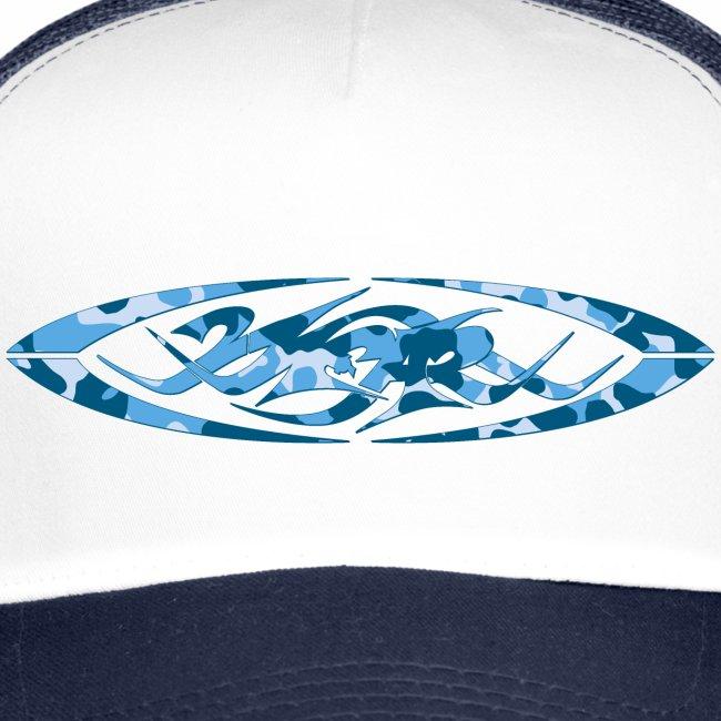 2wear original logo cammo blue √
