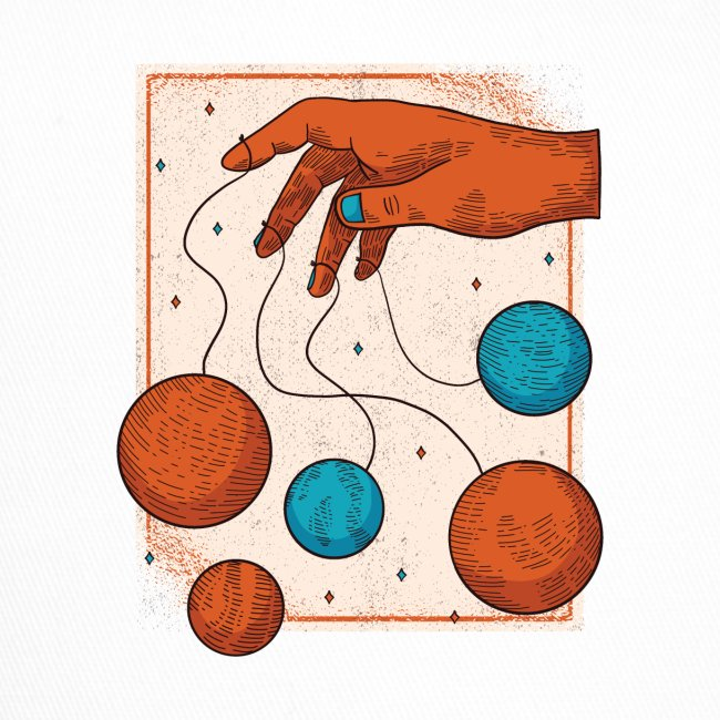 Planets On A String