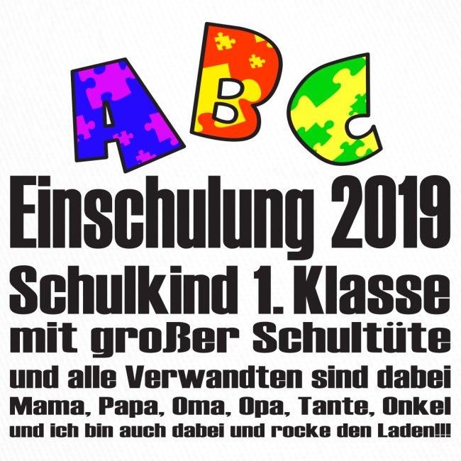 Einschulung Jahr 2019