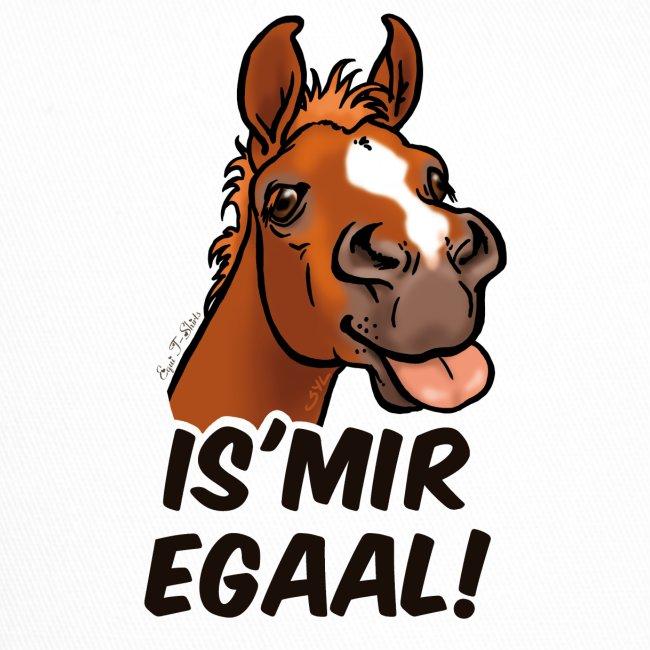 "Fohlen ""Is Mir Egaal!"" (schwartzer Text)"