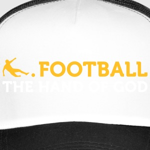 Football Quotes: The Hand Of God - Trucker Cap