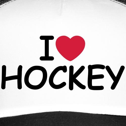 I Love Hockey - Trucker Cap