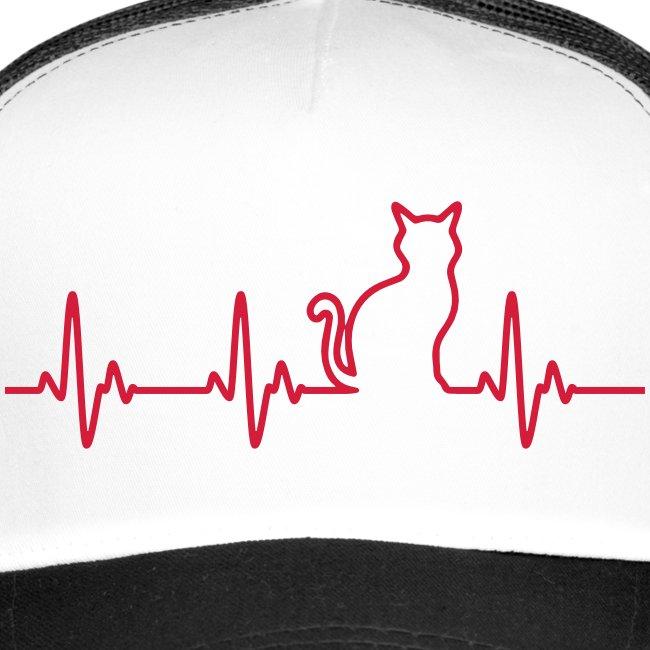 Vorschau: Ein Herz für Katzen - Trucker Cap
