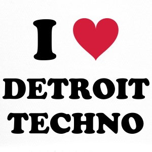 I LOVE DETROIT TECHNO - Trucker Cap