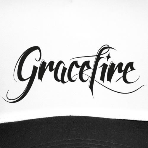 Gracefire Logo black - Trucker Cap