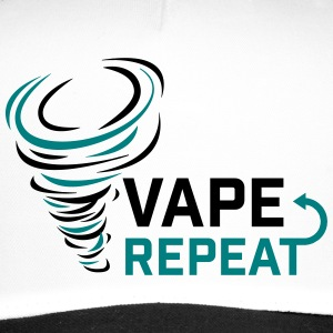 Vape and Repeat - Vaper slogan - Trucker Cap
