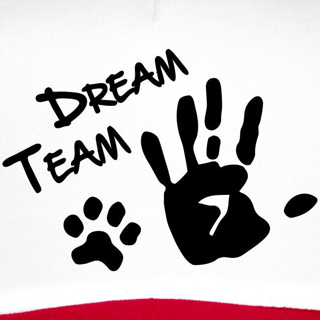 Vorschau: Dream Team Hand Hundpfote - Trucker Cap