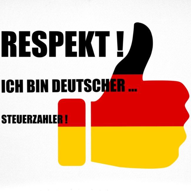 Respekt deutscher Steuerzahler - Trucker Cap | Devindesign