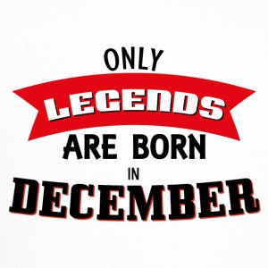 Legends Geboren in december - Trucker Cap