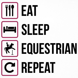 Eat Sleep Ripetere Equestrian - Trucker Cap