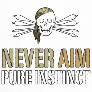 NEVER AIM - Pure Instinct = Instinctive Archery - Trucker Cap