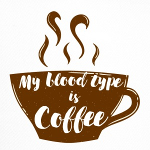 Kaffee: My blood type is coffee - Trucker Cap