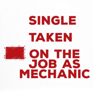 Mechanic: Single, Taken of op de baan als mechanische - Trucker Cap