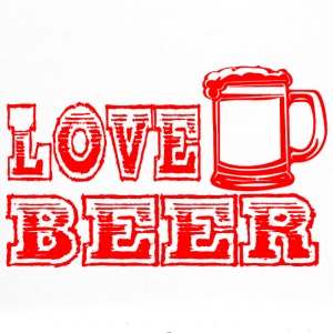LOVE BEER rood - Trucker Cap