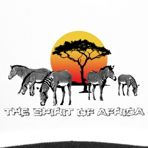 the Spirit of Africa Zebras Sunset Safari - Trucker Cap
