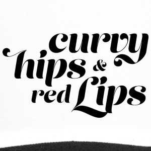 Curvy hips and red lips - Trucker Cap