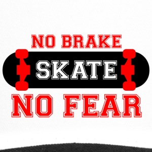 tshirt-NO BRAKE - Trucker Cap