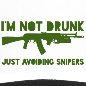 Military / Soldiers: I'm not drunk. Just avoiding - Trucker Cap
