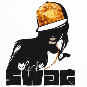 swag gold black woman rap gangster boss hot sexy - Trucker Cap
