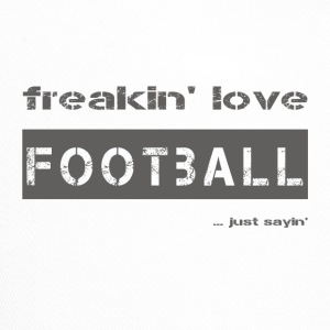 love FOOTBALL - dark T-Shirt - Trucker Cap
