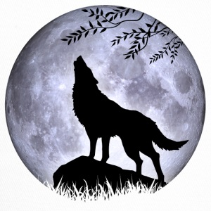 Wolf Full Moon Halloween night nightmare nightmare - Trucker Cap