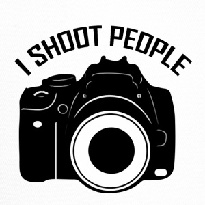 I shoot people - Trucker Cap