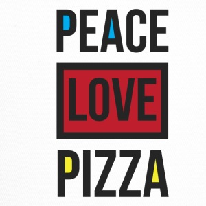 PEACE PIZZA - Trucker Cap