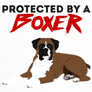 Hund / Boxer: Protected By A Boxer - Trucker Cap
