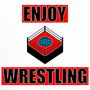 ENJOY_WRESTLING_RED_DesASD - Trucker Cap
